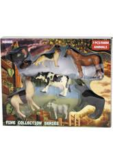 Animales Granja 7 piezas