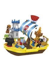 Bloques de construccion 60 Piezas Barco Pirata