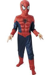 Déguisement Garçon Spiderman Ultimate Musclé T-M
