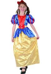 Disfraz Princesa Niña Talla L