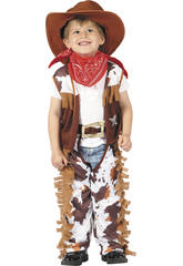 Disfraz Vaquero para Bebé Talla M