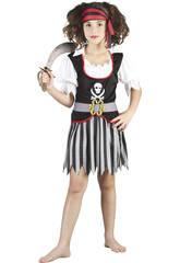 Disfraz Pirata Niñas Talla M