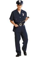 Disfraz Hombre L Policía con Gorra