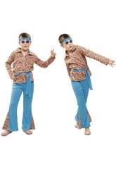 Disfraz Niño M Hippie Psicodélico