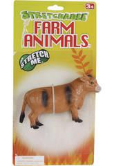 ANIMALES GRANJA ELASTICOS 6 SURT.