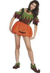 Kostüm Kürbis Frau Größe L
