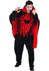 Maschera Vampiro Cattivo uomo Taglia XL