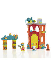 Maison De Pompiers Town Play-Doh