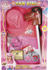 SET COWGIRL CON ACCESSORI E SUONI