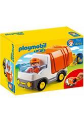 Playmobil 1.2.3 Müllwagen