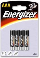 Blister 4 Bateria LR03/AAA Alcalinas Energizer