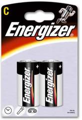 Pack 2 Piles R-14/C Alcalines Energizer