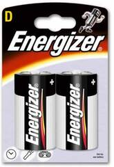 Blister 2 Pilas R-20/D Alcalinas Energizer