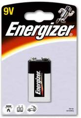Blister 1 Pilha 9.V Alcalina Energizer