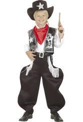 Maschera Cowboy Rodeo Bambino Taglia M