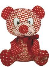 Urso 19 cm. Love Suavilan