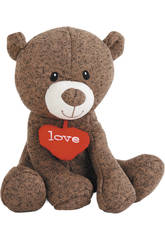 Peluche 23 cm Ours I Love You