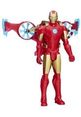 Avengers Titan Hero con Veicolo Hasbro B5776EU4