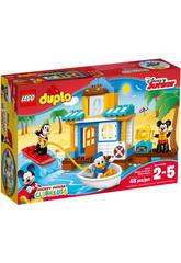 LEGO Duplo Maison À La Plage de Mickey