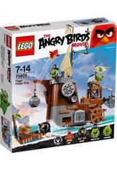 Lego Angry Birds Le Bateau Pirate du Cochon