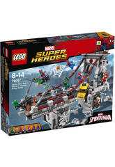 Lego SH SpiderMan Le combat suprême sur le pont des Web Warriors