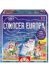 Juego de Mesa Conocer Europa Educa 14669