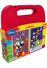 Puzzle 2x20 Mickey Mouse