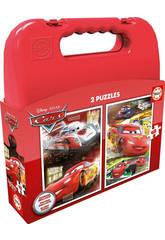 Puzzle 2x48 Cars Educa 16512