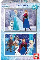 Educa 2x48 Frozen
