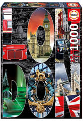 Educa-Puzzle 1000 Collage di Londra