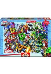 Puzzle 1000 Los Héroes de Marvel Educa 15193