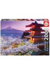 Puzzle 2000 Mont Fuji, Japon