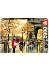 Puzzle 2000 Arco del Triunfo Educa 16778