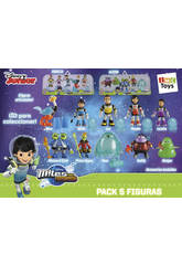 Miles Figurines Pack de 5