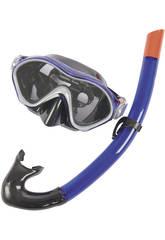 Tauchbrille und Tube Aero Form